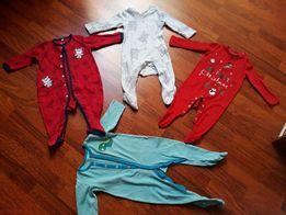 ec0191e69a6c2a Cena za 4 zestaw pajac piżama kombinezon r 74