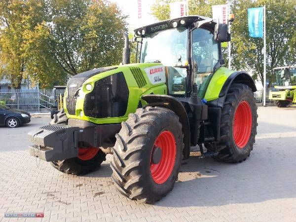 Claas Axion 830 - 2014
