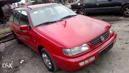 Very sharp sound firstbody Passat wagon Lagos cleared with chilling AC