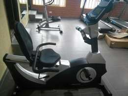 Commercial American fitness recumbent bike