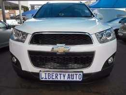 2012 Chevrolet Captiva 2.4 SUV 7Seater LT Automatic Gear 80,392km Clot