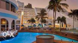 Umhlanga cabanas 31 March-7 April