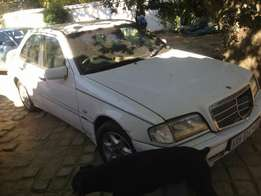 W202 facelift c200 stripping for spares
