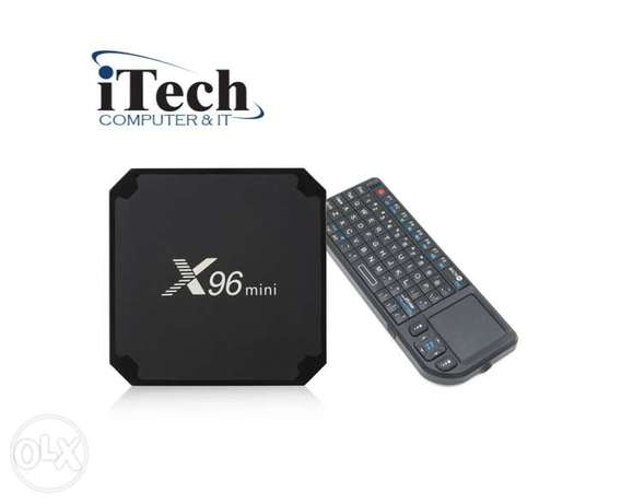 TV Box X96 mini + Wireless mini Keyboard