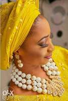 Order for your coral beads design and put Stone on your ASO oke .