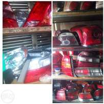 Major and minor all car parts available.