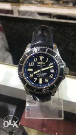 Breitling Automatic Watch - Leather Strap