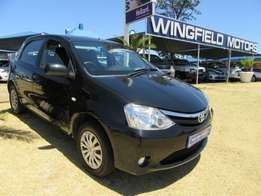 2013 Toyota Etios 1.5XS 5 dr in excellent condition