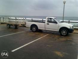 Bakkie with Driver for Hire