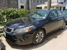 Newly registered Honda accord