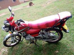 TVS motorcycle on quick sale