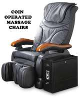 Brand NEW massage chairs Coin operated. For saloons,hotels,barbershops