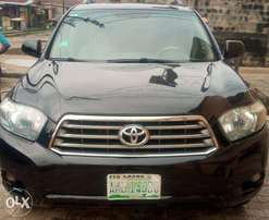 Registered Toyota Highlander Sports 2008 Located at Lagos Island