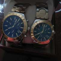 His and hers swatch wristwatch