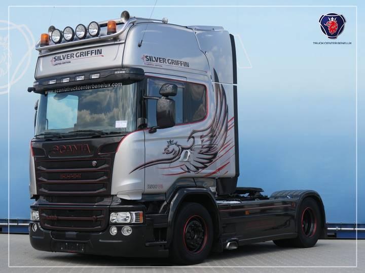 Scania R580 LA4X2MNB | V8 | Navi | Silver Griffin 60/100 - 2015