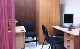 Zero Deposit on Fully Furnished CBD Office with Computer & Internet