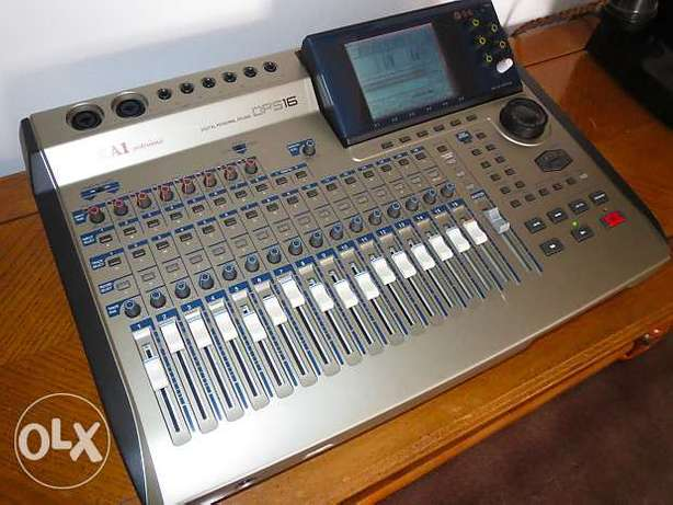 Akai DPS-16 Digital Multitrack Recorder / Mixer with Effects 2000000L