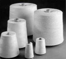 Industrial sewing thread and machines.