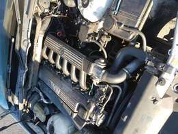 BMW 325tds motor and gearbox