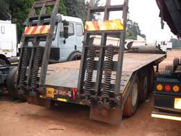 Step deck lowbed trailer for sale