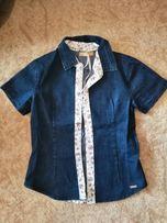 e451ca6095e Джинсовая рубашка для девочки 6-8лет. Новая