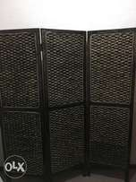 Beautiful almost new Reed Room divider