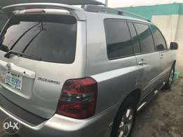 cheap neat nigeria used Toyota Highlander 3 seater