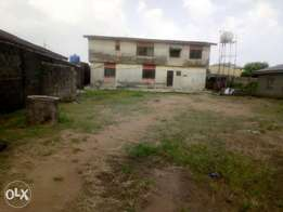 Building of Two unit of three bedroom at Igando