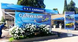 Energetic manager for 082CARWASH franchise in Edenvale