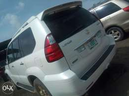 7months used Gx470 full option