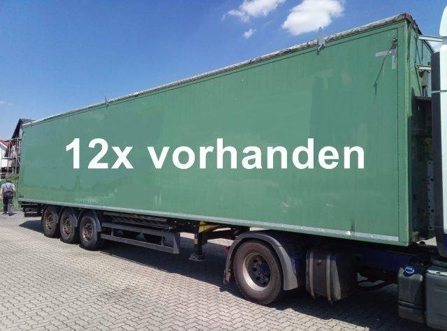 Schmitz Cargobull SW 24 SL G SW 24 SL G Walkingfloor ca. 92m?, 14x Vorhanden! - 2014