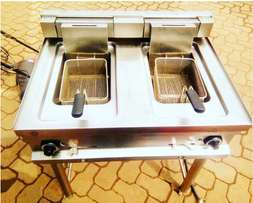 Commercial Stainless Steel Fryer. Imported from UK