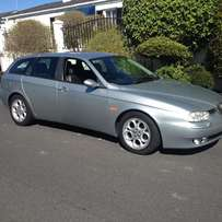 2004 ALFA ROMEON 156 SPORT WAGON 2.5 v6 nice small car