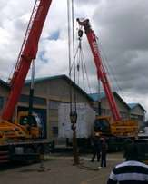 Cranes and Forklifts For Hire