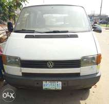 VW Transporter Registered