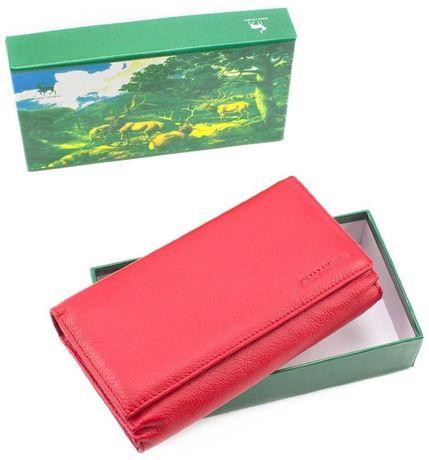 6950a2ff7251 Красного цвета кожаный женский кошелек под карточки MARCO COVERNA Киев -  изображение 7