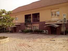 Beautiful 3bedroom duplex with a room BQ for rent at Gwarinpa