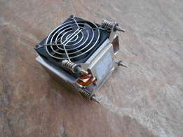 Copper core CPU heatsink and fan for HP workstation