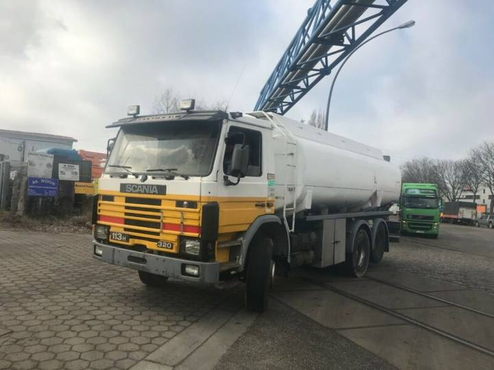 Scania 113 320/360.tank 4 Compa.10 Tires.18700 Liter - 1988