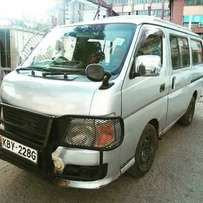 Nissan Caravan 2007 For Quick Sale Asking Price 750,000/= o.n.o