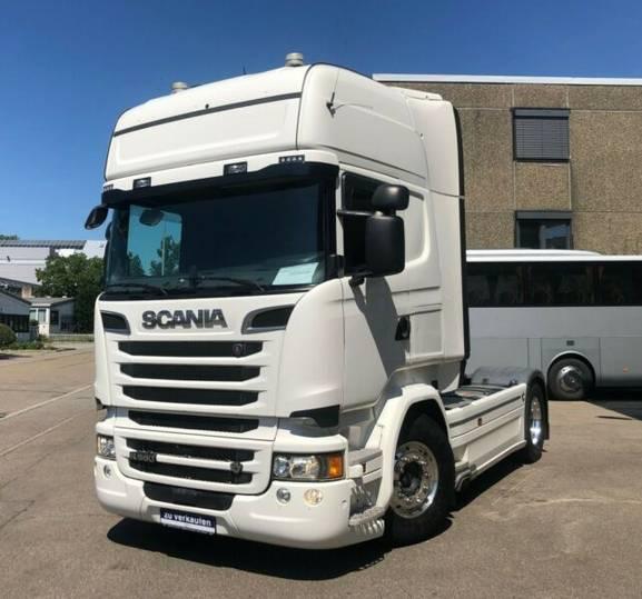 Scania R580LA4X2MNA Topline/FLC/ACC/Navi/Standklima - 2015