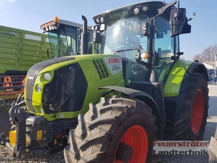 Claas arion 550 cmatic cis+ - 2018
