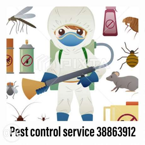 Pest control service available