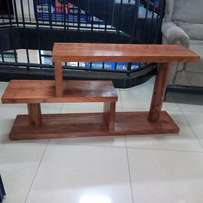 Tv stand new ready to take