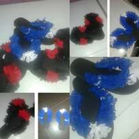 Nice slippers design with laz