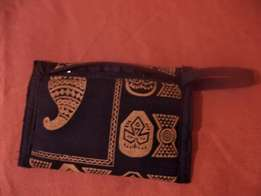 Purse with African fabric*New **