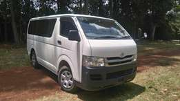 Toyota Hiace 1KD 2009 model Manual