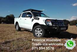 2012 Ford ranger 3.2 4x4 manual d/c many extra's R324,900