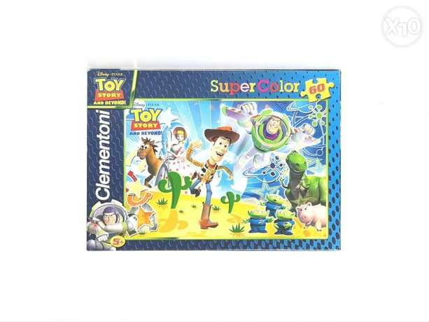 Disney pixar toy story supercolor puzzle 60 pieces