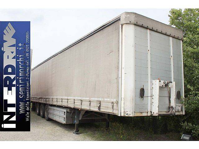 Schmitz Cargobull semirimorchio centinato francese usato - 2003